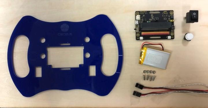 Mbitbot 小車方向盤套件包