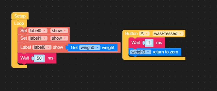 M5Stack 電子秤功能規劃-顯示UI介面設計-2